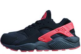 Nike Huarache Negras y Rojas